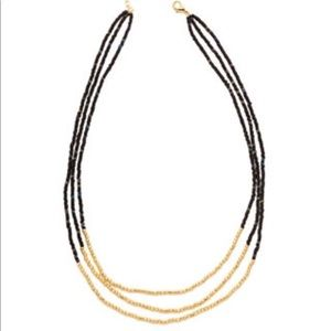 gorjana layered bead necklace